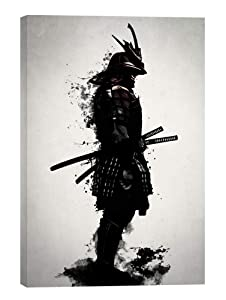 "Cortesi Home ""Armored Samurai by Nicklas Gustafsson, Giclee Canvas Wall Art, 18""x26"""