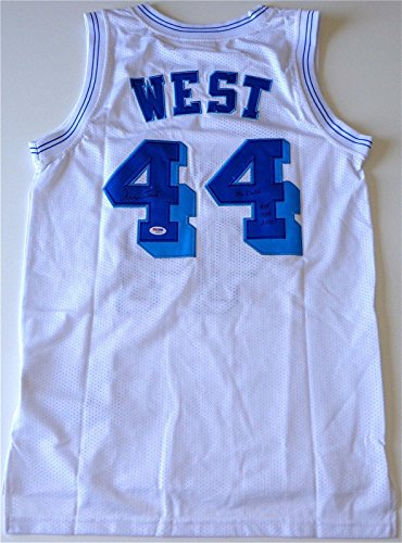 Jerry West Lakers Signed