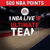 NBA Live 18: NBA18 - 500 NUT Points Pack - PS4 [Digital Code]