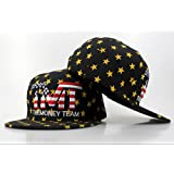 TMT Rockstar Fitted All Striped Out Fashion Caps, One Size