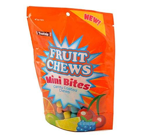 Tootsie Fruit Chew Mini Bites Candy Coated Chews 9 Ounce Bags - 3 / -