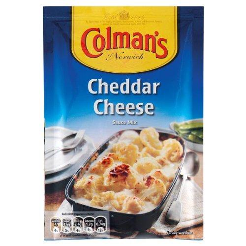 Salsa de queso Cheddar de Colman Mix 12 x 40 g: Amazon.es: Alimentación y bebidas