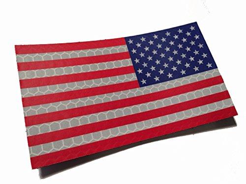 Reversed Full Color Us Ir Infrared USA Flag Military - Ir Usa
