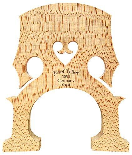 Joseph Teller 1891 Germany 100567 4/4 Cello Bridge French Model 90 mm Foot Measure, Finest Old Select Bosnian Maple VWWS