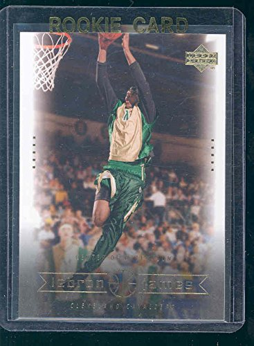 2003 Upper Deck Center of Attention #4 Lebron James Rookie Card - Mint Condition Ships in a Brand New Holder