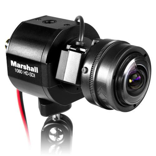 Marshall Electronics CV343-CS 1/3-inch 2.5MP Full HD 3G-SDI/Composite Compact Progressive Camera, 1920x1080, 60fps, CS/C Mount w/Auto Iris, Power Pigtail Cable, NTSC and PAL System, Lens Not Included (Pov Lens Series)