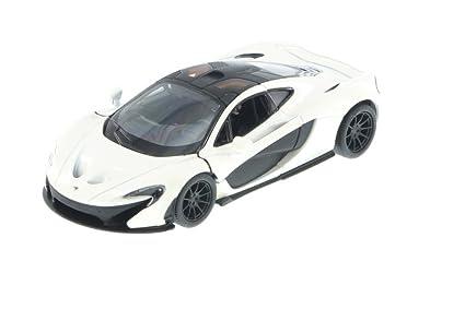 Superior McLaren P1, White   Kinsmart 5393D   1/36 Scale Diecast Model Toy Car