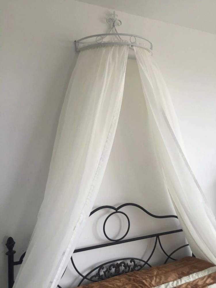 HOMEJYMADE Princess Crown Bed Canopies,Mosquito net Bed Canopy for Girls Bedding Hanging Decoration-B by HOMEJYMADE