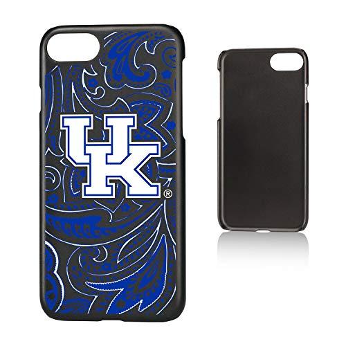 (Keyscaper KSLMI7-00KY-PAISL1 Kentucky Wildcats iPhone 8/7 Slim Case with UK Paisley Design)
