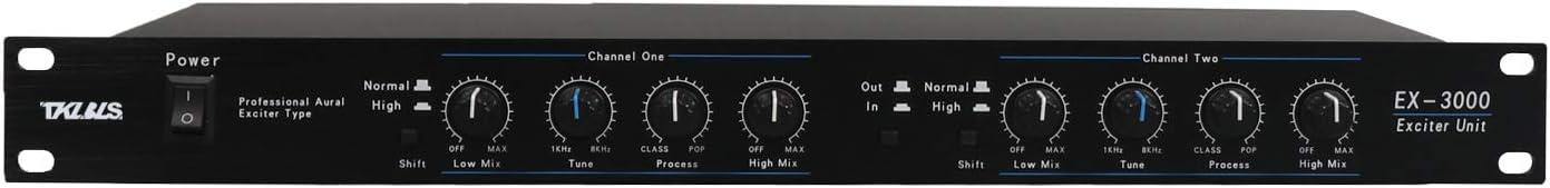 TKLBLS EX3000 2 channels Sound Audio Exciter Processor speaker management pro audio processor protea pro stage audio equipment