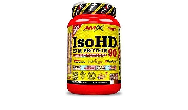 Amix ISO HD 90 CFM Protein, Chocolate - 800 g: Amazon.es ...