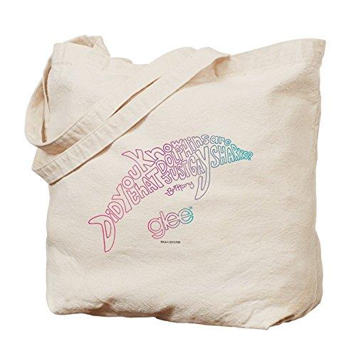 CafePress Glee–delfín–Gamuza de bolsa de lona bolsa, bolsa de la compra