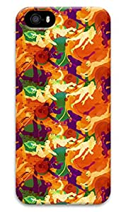 Simply Case Designs Camo with Human Figure Design PC Material Hard Case for iphone 5/5s