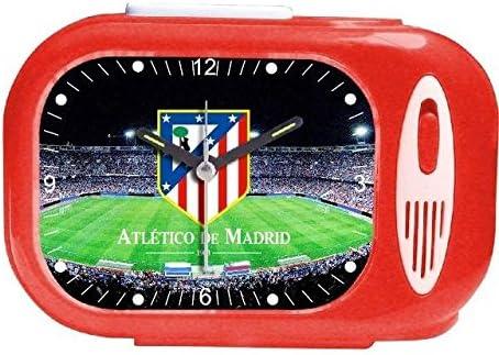 Seva Import Himno AT. Madrid 707595 Despertador Rectangular, Unisex Adulto, Negro, Talla Única: Amazon.es: Deportes y aire libre