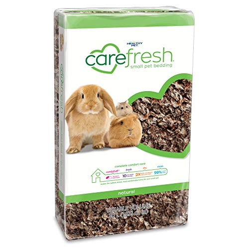 Scattered Beadings - Carefresh Natural Small pet Bedding, 30L (Pack May Vary)