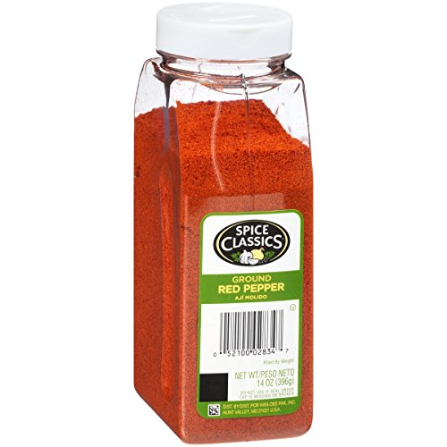 Spice Classics Ground Red Pepper, 14 Ounce