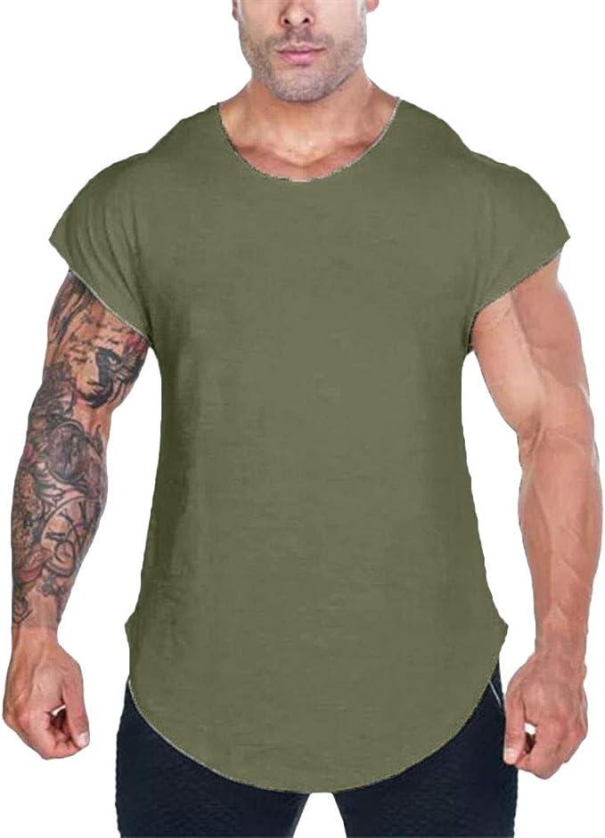 Herren Kompressions Baselayer Sport Gym Fitness Funktions T-Shirt Muskelshirt