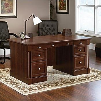 Ashley furniture signature design devrik home office desk 2 drawers and keyboard - Devrik home office desk ...