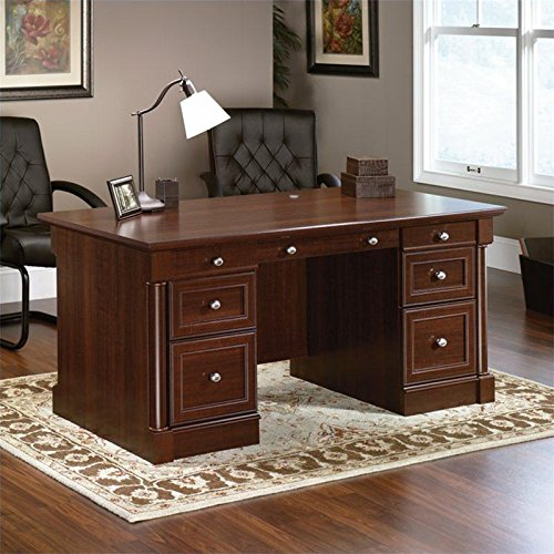 sauder-palladia-executive-desk-cherry