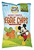Disney Mickey Mouse Shaped Veggie Chips Children's Healthy Snacks 6.75 Oz (2)