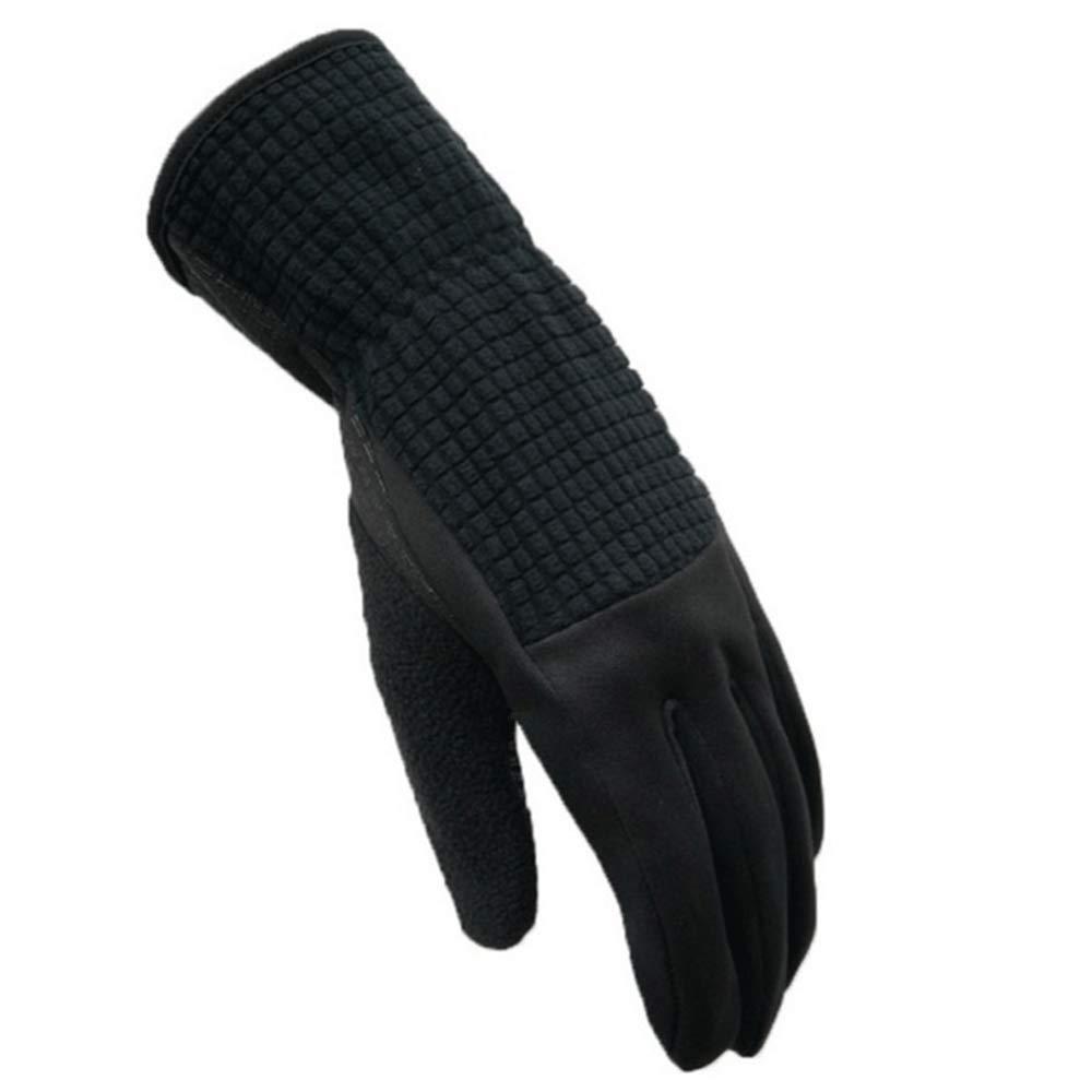 GXY Touch Screen Handschuhe Im Freien Volle Palme-Silikon-Rutschfeste Schwarze Touch Screen Handschuhe Handschuh