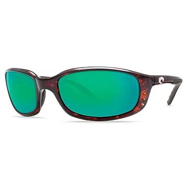 6f02d25bf2808 Costa Del Mar Blackfin 580G Polarized Sunglasses in Tortoise   Green Mirror  Lens