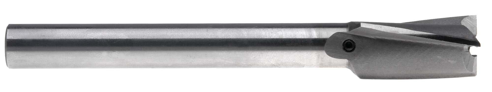 3/8'' Straight Shank Counterbore, Interchangeable Pilot Type, High Speed Steel