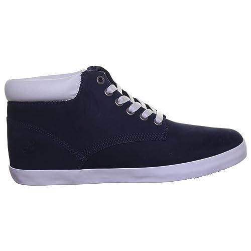 31e3087f105 Timberland 8957A - Botas de Piel Vuelta para mujer Azul Navy XP  Amazon.es   Zapatos y complementos