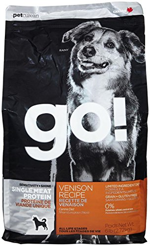 Petcurean 6 Lb Go Sensitivity + Shine Venison Recipe Dog Food, One Size