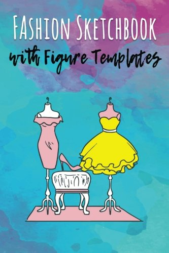 - Fashion Sketchbook with Figure Templates: 6x9 inch, 360 Corquis Templates to create your designs