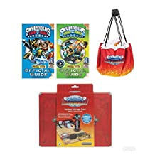 Best bargins New! SKYLANDER Fan (4pc) Bundle Deal: Garage Storage CASE, Quick Store Play MAT, 2 Official Guide Books W/Posters