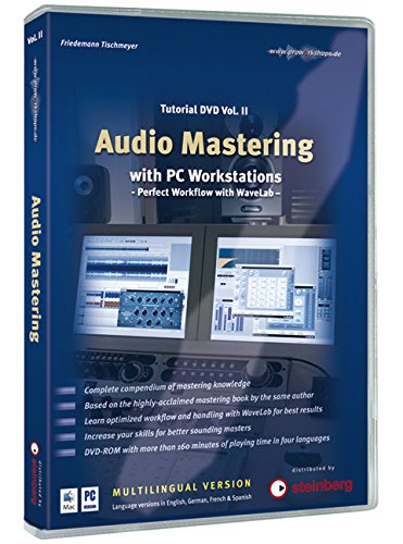 Audio Mastering with PC Workstations, 1 DVD-ROM (mehrsprachige Version). Vol.2