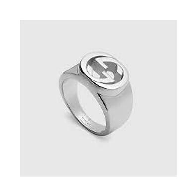 ef7412d2008 Women Gucci Ring 356248 Silver  Amazon.co.uk  Jewellery