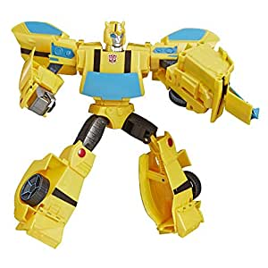 Transformers TRA CYBERVERSE Ultimate Bumblebee Action Figures, Pack of 2