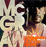Tim McGraw Sundown Heaven Town Deluxe Edition CD + Autograph Signed CD Booklet