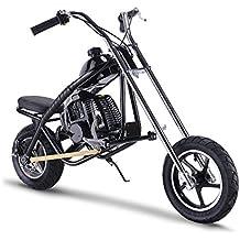 SAY YEAH Gas Scooter Mini Dirt Pit Bike 2 Stroke Kids Mini Chopper,Powerful 49cc EPA Engine Motorized Bike for Boys and Girls,Non California Compliant