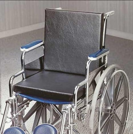 Amazon.com: Solid Cojín de asiento silla de ruedas 18 X 16 X ...