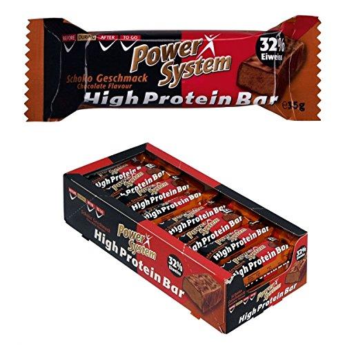 Power System High Protein Bar 35g - 24x35g Eiweiss Riegel (Mix)
