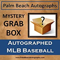 MYSTERY GRAB BOX - Autographed MLB Baseball in Cube