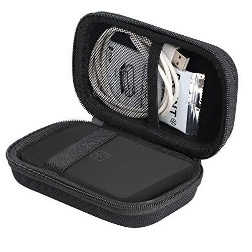 Khanka Hard Travel Case Replacement for Lifeprint 2x3 Portable Photo and Video Printer (Black)