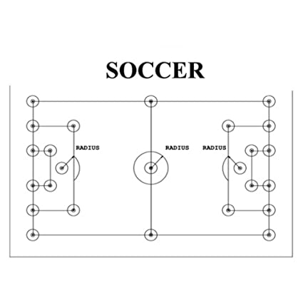 Amazon trigon sports proline soccer field layout system trigon sports proline soccer field layout system ccuart Image collections