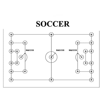 Amazon trigon sports proline soccer field layout system amazon trigon sports proline soccer field layout system sports corner flags sports outdoors ccuart Gallery