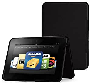 "Amazon Kindle Fire HD 8.9"" Standing Leather Case, Onyx Black (will not fit HDX models)"