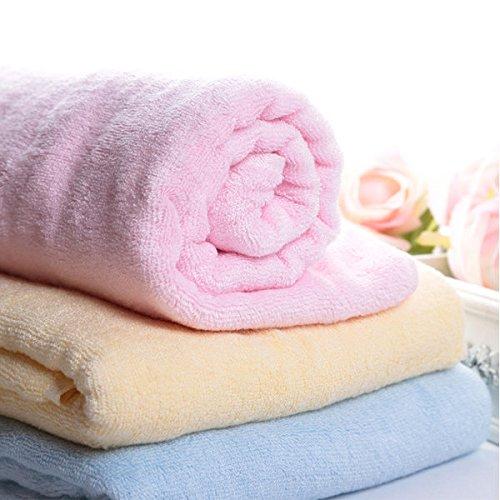 Bargain World Dokis grande de fibra de bambú suave de secado niño recién nacido toalla de baño albornoz: Amazon.es: Hogar