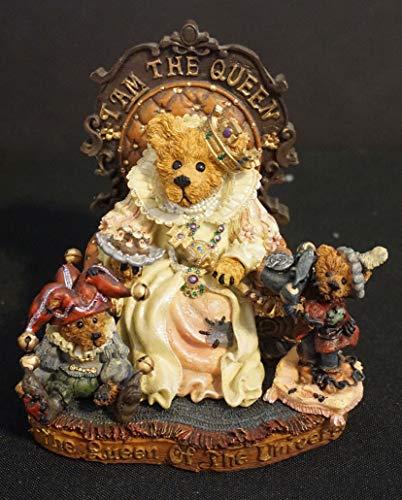 Boyds Elizabeth with Rosencrantz and Guilderstern…I AM the Queen Figurine