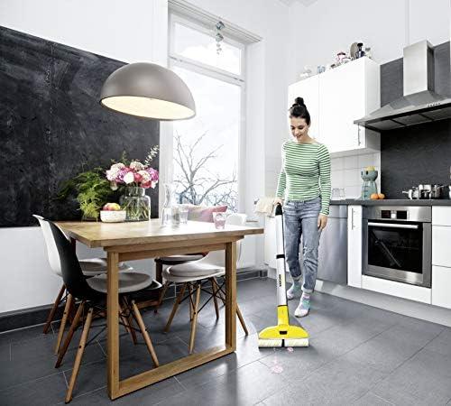 Kärcher FC 3 sans fil - Nettoyeur de sol pour sols durs - Léger et maniable, nettoyage sans effort, sans frotter - 20 min d'autonomie soit 60 m² de sol nettoyé par charge - Home Robots