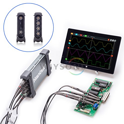 (Hantek 6074BC 4 Channel 1GSa/s 70Mhz Bandwidth Hantek PC Based USB Digital Storage Oscilloscope FFT spectrum analyzer)