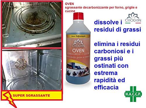 chogan OVEN Sgrassante decarbonizzante (750 ML)