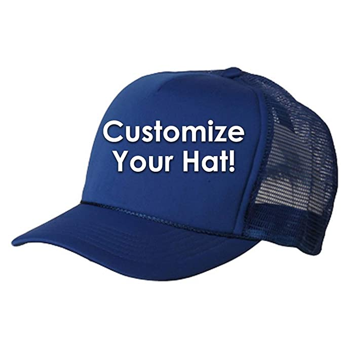 d3a7e7c8 Customize NASA Embroidery Design on Your Summer Foam Mesh Trucker Cap