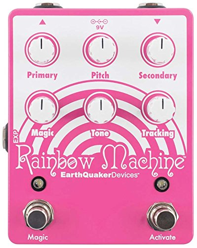 Machine Guitar Effects - EarthQuaker Devices Rainbow Machine V2 Polyphonic Pitch Modulation Guitar Effects Pedal